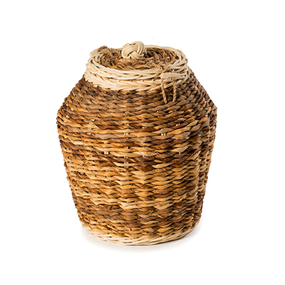 Banana Sunflower Wicker Caskets by Carl Hogg Funerals Golborne