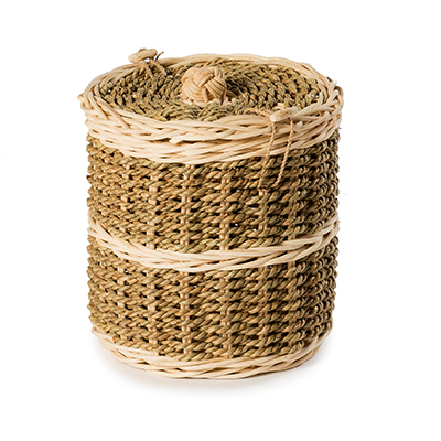 Pandanus Allium Wicker Caskets by Carl Hogg Funerals Golborne