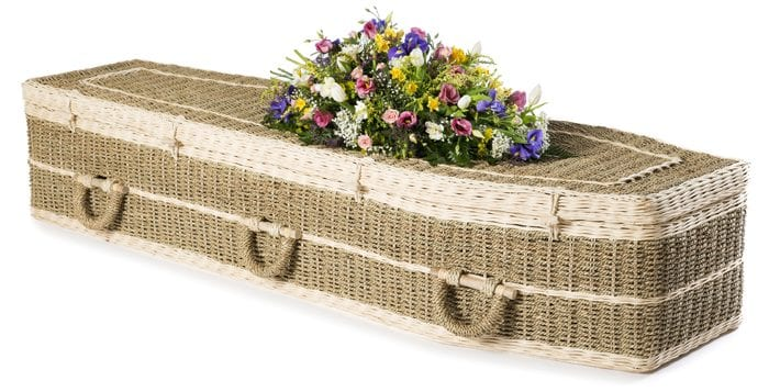 Pandanus Traditional Wicker Coffins by Carl Hogg Funerals Golborne