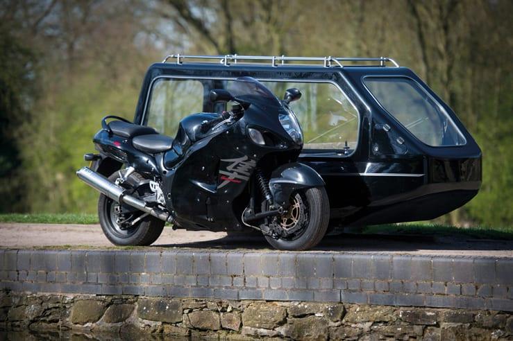 Suzuki Hayabusa Funerals by Carl Hogg Funeral Services Golborne