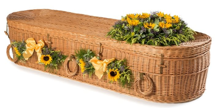 Willow Cromer Wicker Coffins by Carl Hogg Funerals Golborne